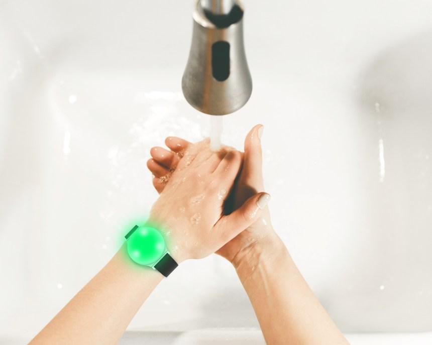 Des bracelets lumineux pour contrer la propagation du coronavirus