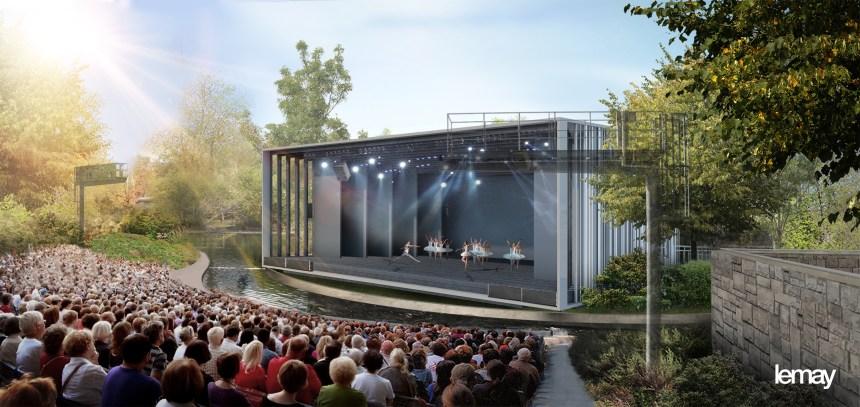 Un nouveau théâtre de Verdure au parc La Fontaine à l'été 2021