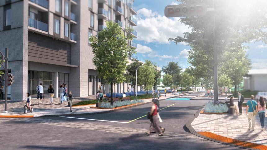 Montréal-Est : un contrat de près de 16 M$ pour l'avenue Broadway ?