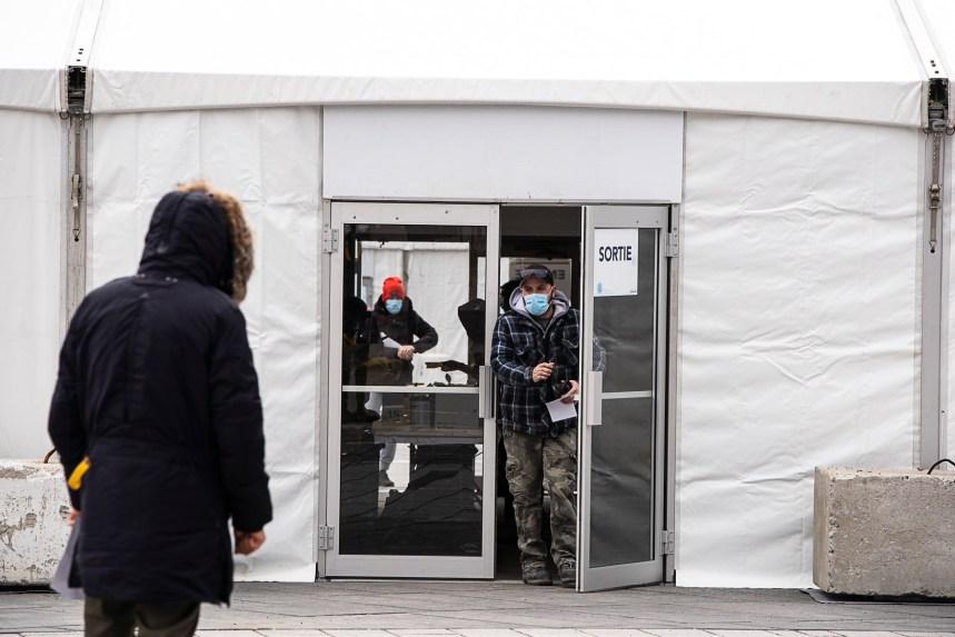 Coronavirus: un centre permanent de dépistage à Pointe-aux-Trembles