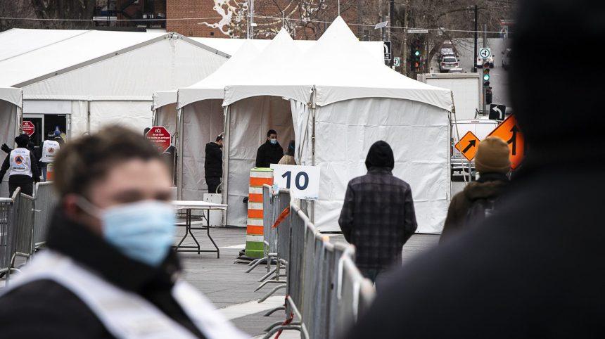Des centaines de personnes au centre-ville pour un dépistage