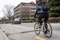 Coronavirus: difficile respect de la distanciation sociale pour les cyclistes