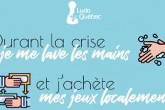 Jouer confiné : Ludo Québec lance une campagne « Achetez local »