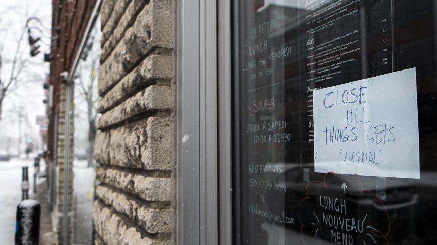 La réouverture des restaurants attendra au 22 juin à Montréal