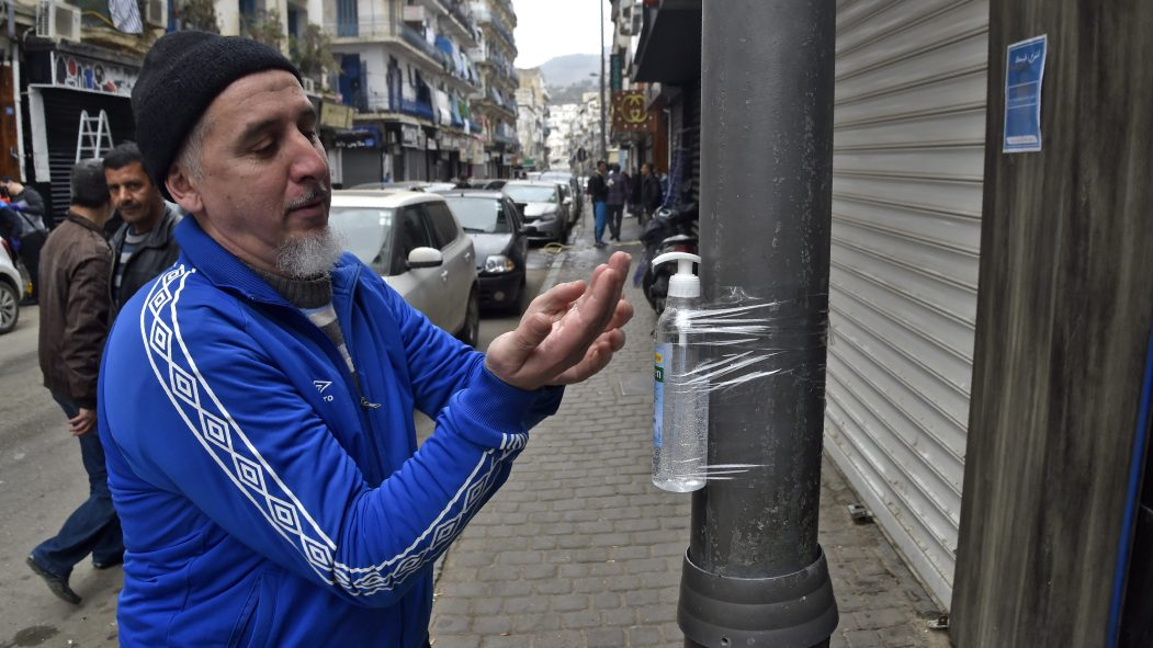 confinement Algérie