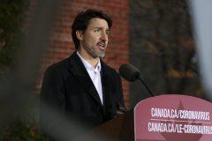 Le Canada doit «arrêter» l'économie pour traverser la tempête, affirme Trudeau