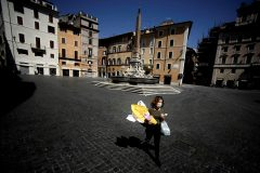 Coronavirus: en Italie, un dimanche de Pâques moins meurtrier