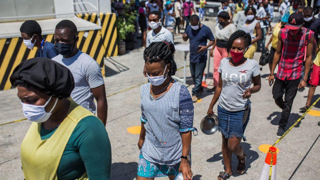 Coronavirus réouverture des usines en Haïti