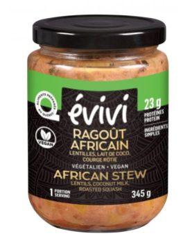 Pot de ragoût africain