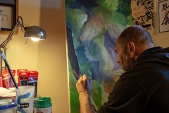Art mural: quarantaine artistique à l'ère du coronavirus
