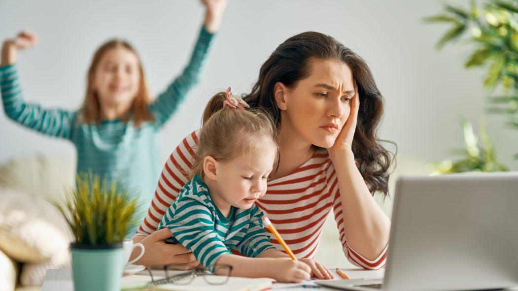 Enfants et télétravail
