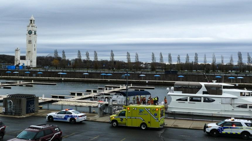 Un corps repêché dans le Vieux-Port de Montréal
