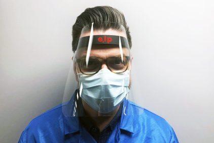Une visière pour contrer la propagation du coronavirus