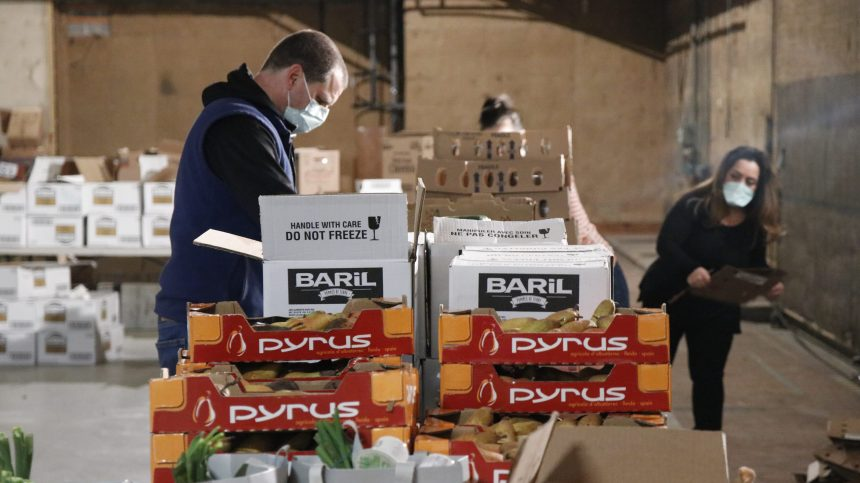 Les demandes d'aide alimentaire explosent à Saint-Laurent