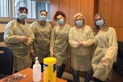 Les infirmières du Cégep André-Laurendeau au front