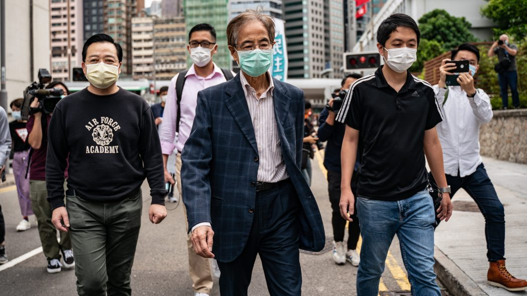 arrestations hong kong