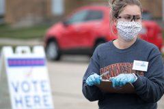 Primaire démocrate: les électeurs du Wisconsin votent en pleine pandémie