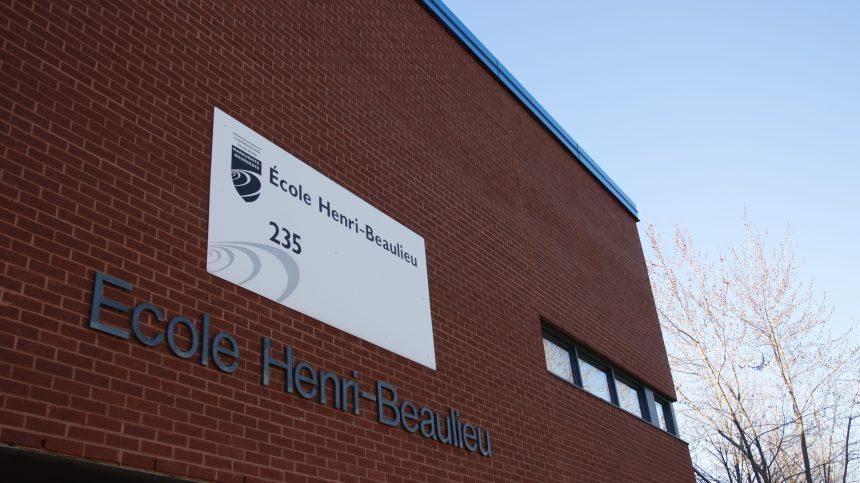 Un message d'amour pour les élèves de l'école Henri-Beaulieu