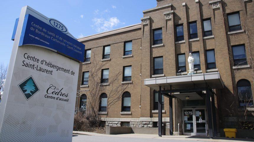 Mise à jour des cas de COVID-19 dans les centres pour aînés à Saint-Laurent