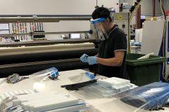 Une entreprise de Saint-Laurent veut produire des visières de protection