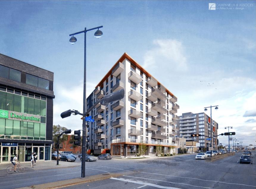 Une tour de 101 logements sociaux sera construite sur le boulevard Pie-IX