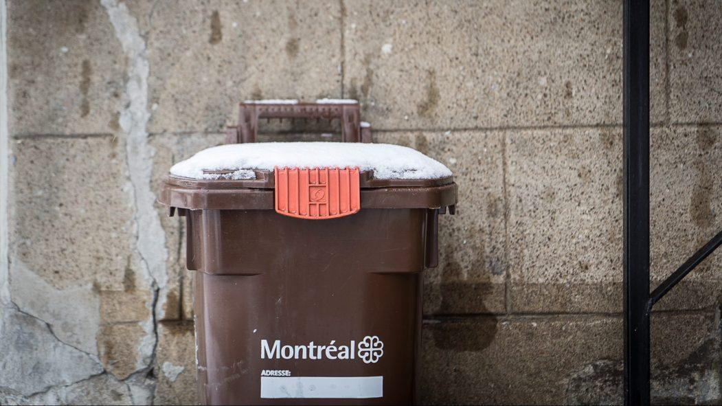 Des bacs bruns collectés dans l'ouest de la ville, Recyclage Notre-Dame pourra fabriquer du biogaz et du compost.