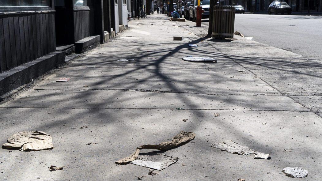 nettoyage des rues coronavirus