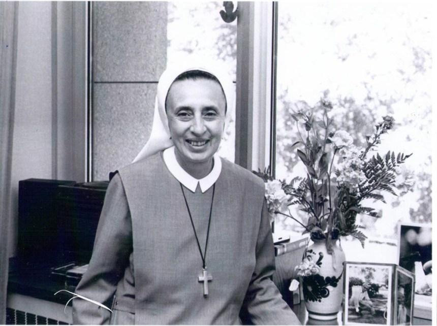 Décès de la fondatrice du collège Sainte-Marcelline de Cartierville