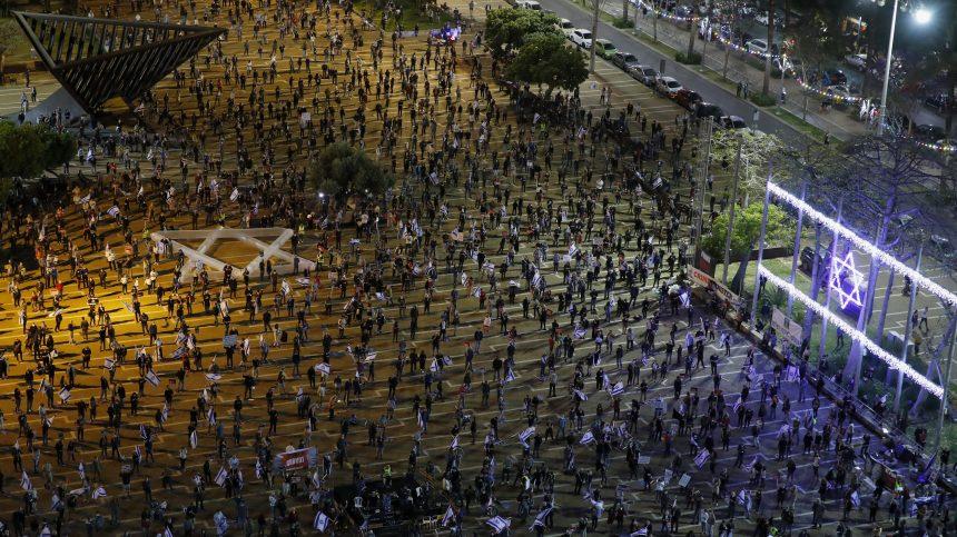 Israël: un millier de personnes manifestent contre l'accord de coalition
