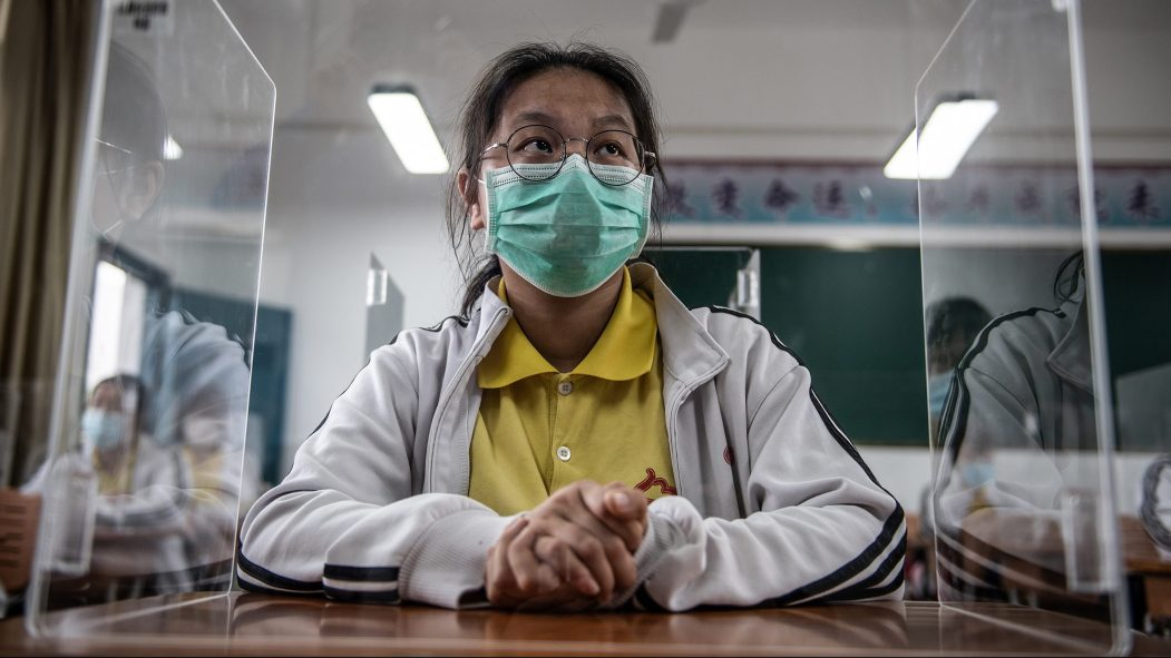 premier cas de coronavirus à Wuhan depuis plus d'un mois