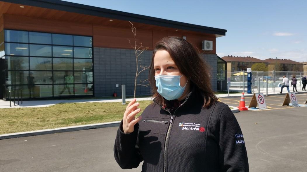 Alors que le nombre de nouvelles infections au coronavirus est à la baisse dans Rivière-des-Prairies – Pointe-aux-Trembles, la mairesse d'arrondissement appelle à la prudence.