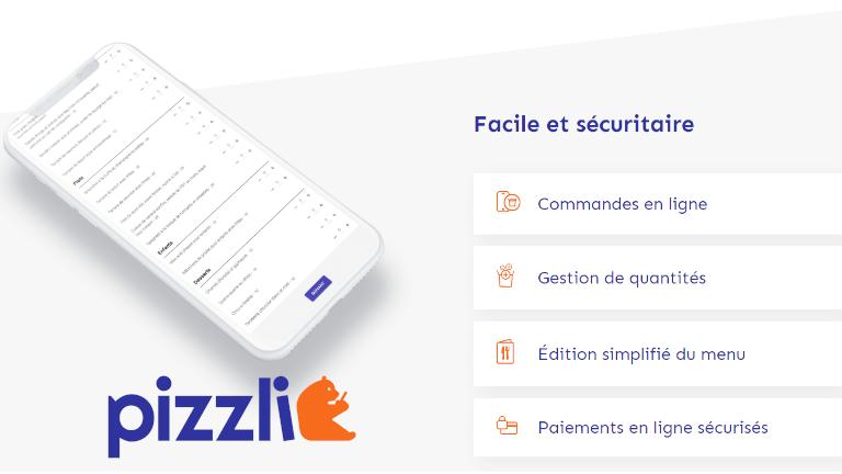 PIZZLi app livraison nourriture restaurants québécois
