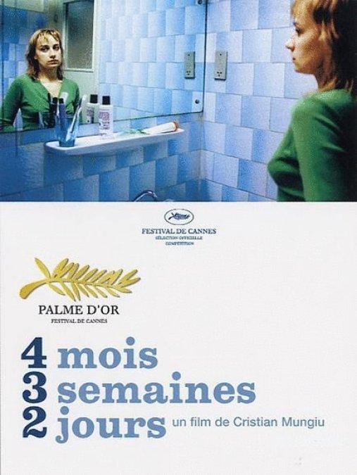 Affiche du film 4 mois, 3 semaines, 2 jours