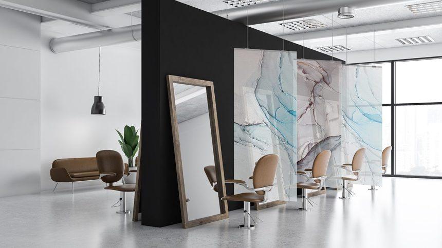 Des écrans protecteurs design pour les commerces
