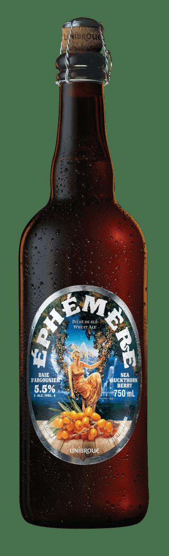 Bouteille de bière Unibroue