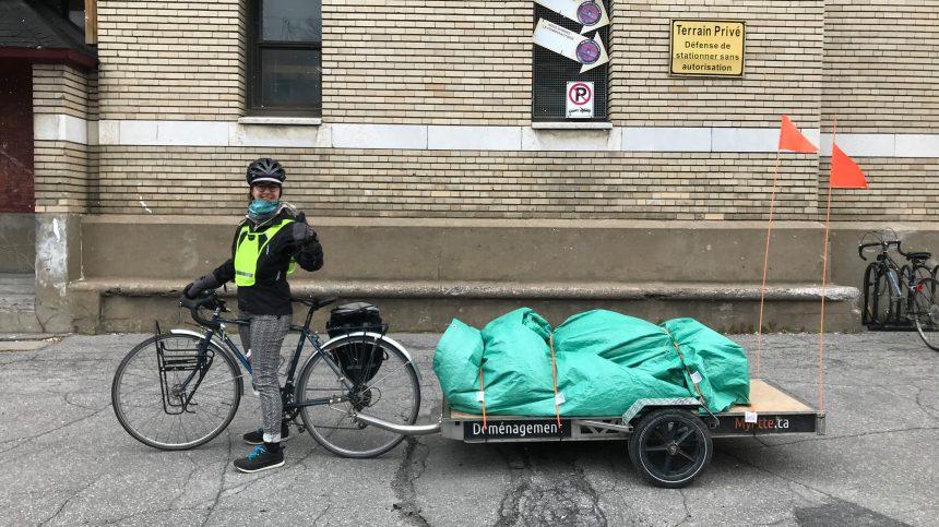 Des cyclistes solidaires pour assurer la sécurité alimentaire