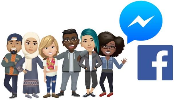 Facebook Messenger Avatar Stickers
