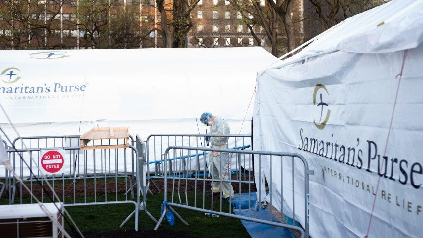 Coronavirus: New York ferme ses hôpitaux de campagne