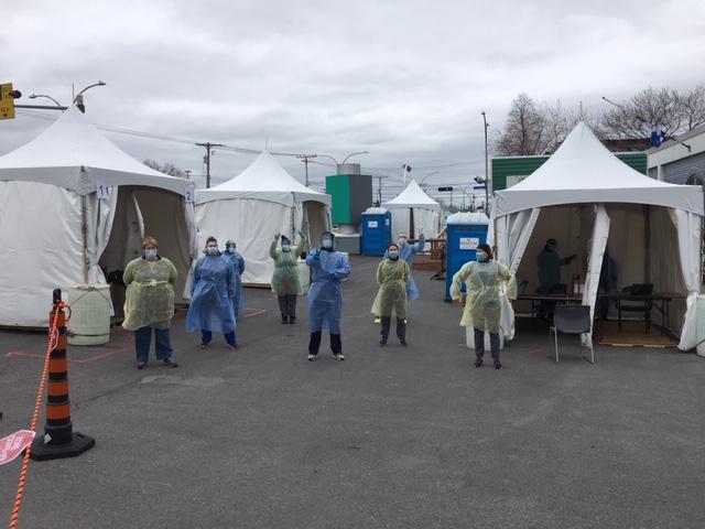 Ouverture d'un centre de dépistage sans rendez-vous à Montréal-Nord