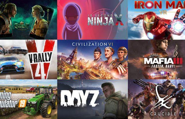 Les jeux gratuits et aubaines gaming du 22 mai 2020
