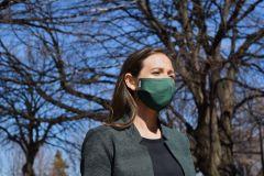 Où acheter des masques en tissu conçus dans l'est de Montréal?