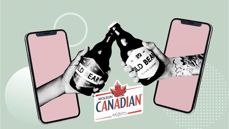 Molson 5 à 7 virtuel bière certificat-cadeau 25$ restaurants bars
