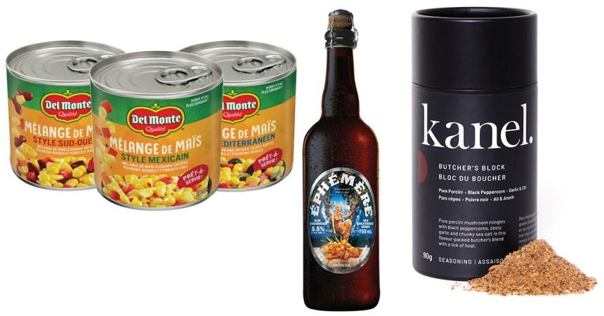 Du nouveau dans l'assiette: trois produits alimentaires à découvrir!