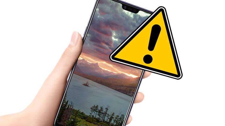 bogue téléphone Android fond écran