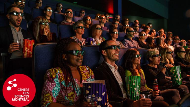 centre des sciences films imax gratuits