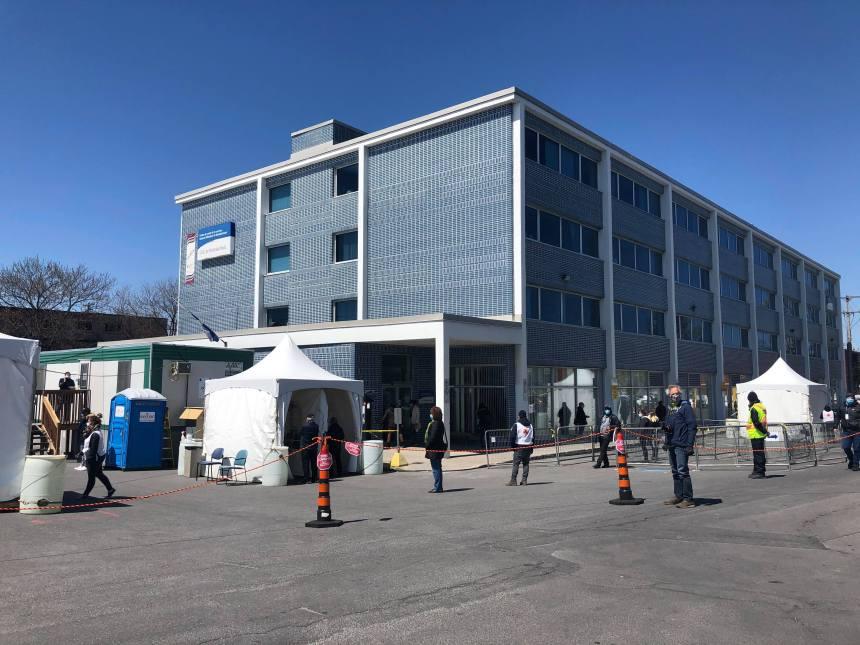 Montréal-Nord: la clinique de dépistage reste ouverte