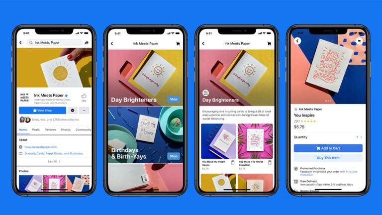 facebook shops shopify commerce en ligne