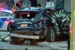 Un accident fait un mort et un blessé sur l'A15-Sud à Saint-Laurent