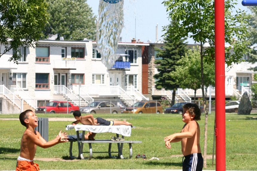 Réouverture des jeux d'eau à LaSalle
