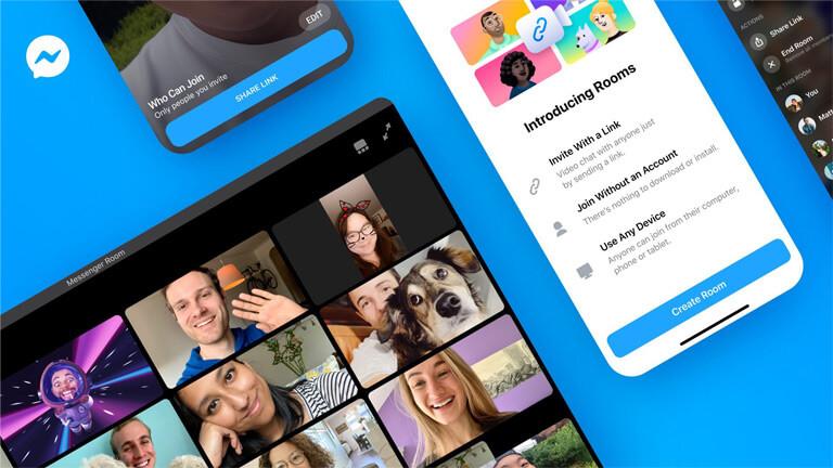 messenger rooms vidéoconference